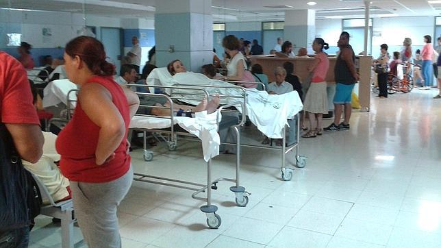 Falta de camas en los hospitales de Málaga
