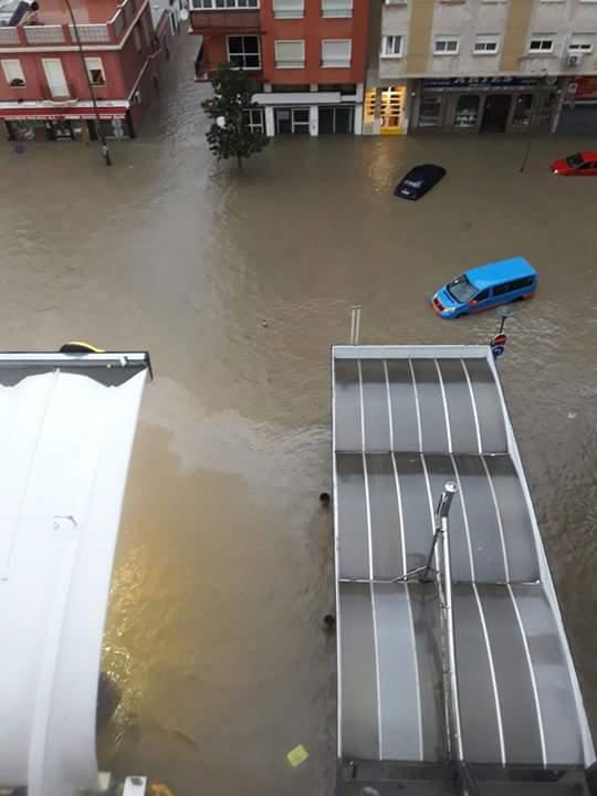 Inundaciones en Málaga. Todas las fotos