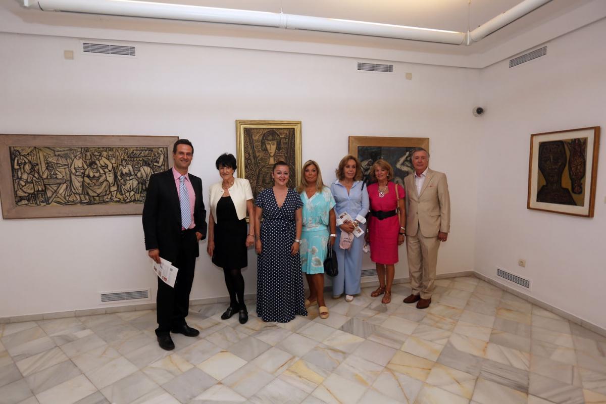 El Museo del Grabado y el Cortijo Miraflores exhiben la obra de Miguel Herrero