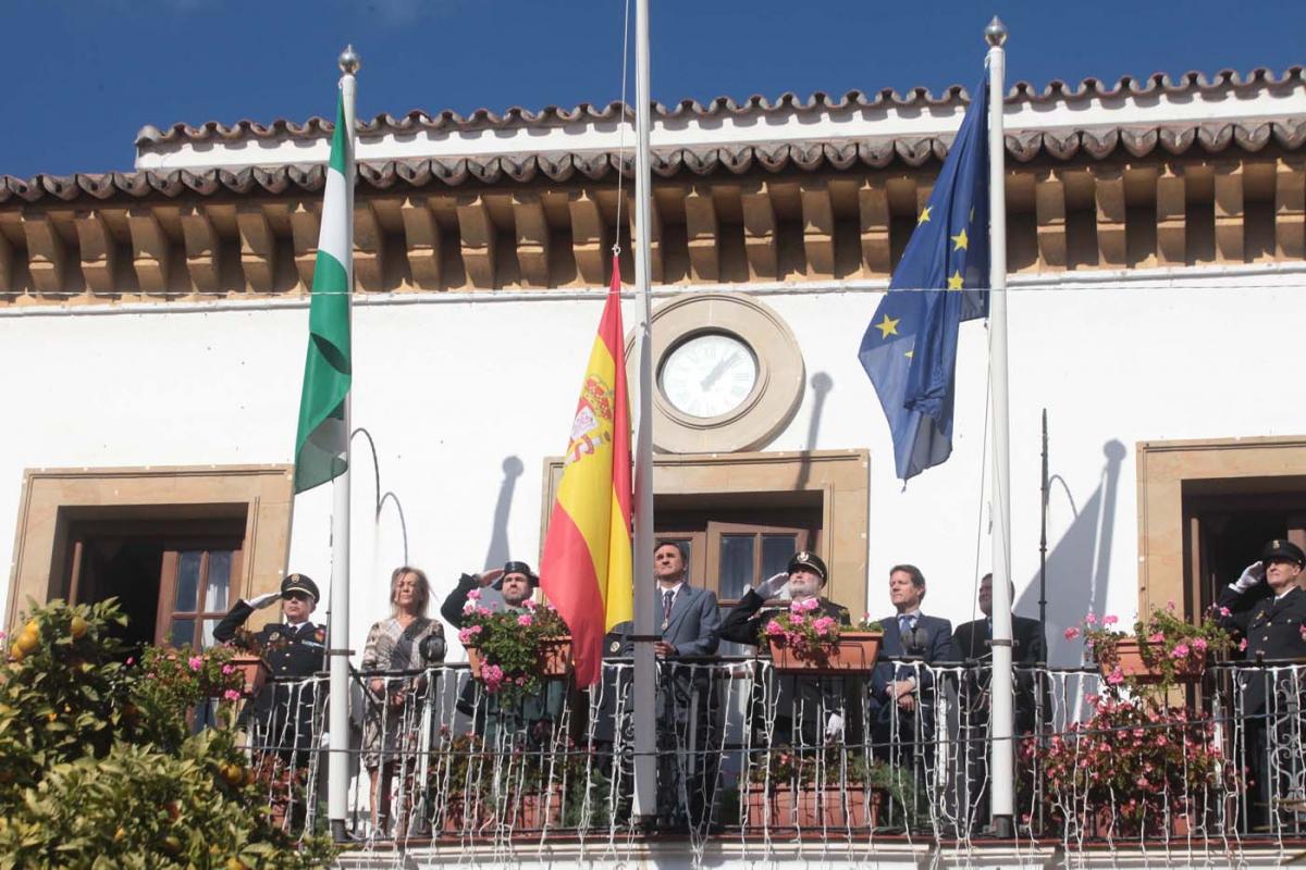 La ciudad conmemora el Día de la Constitución con sendos actos en Marbella y San Pedro Alcántara