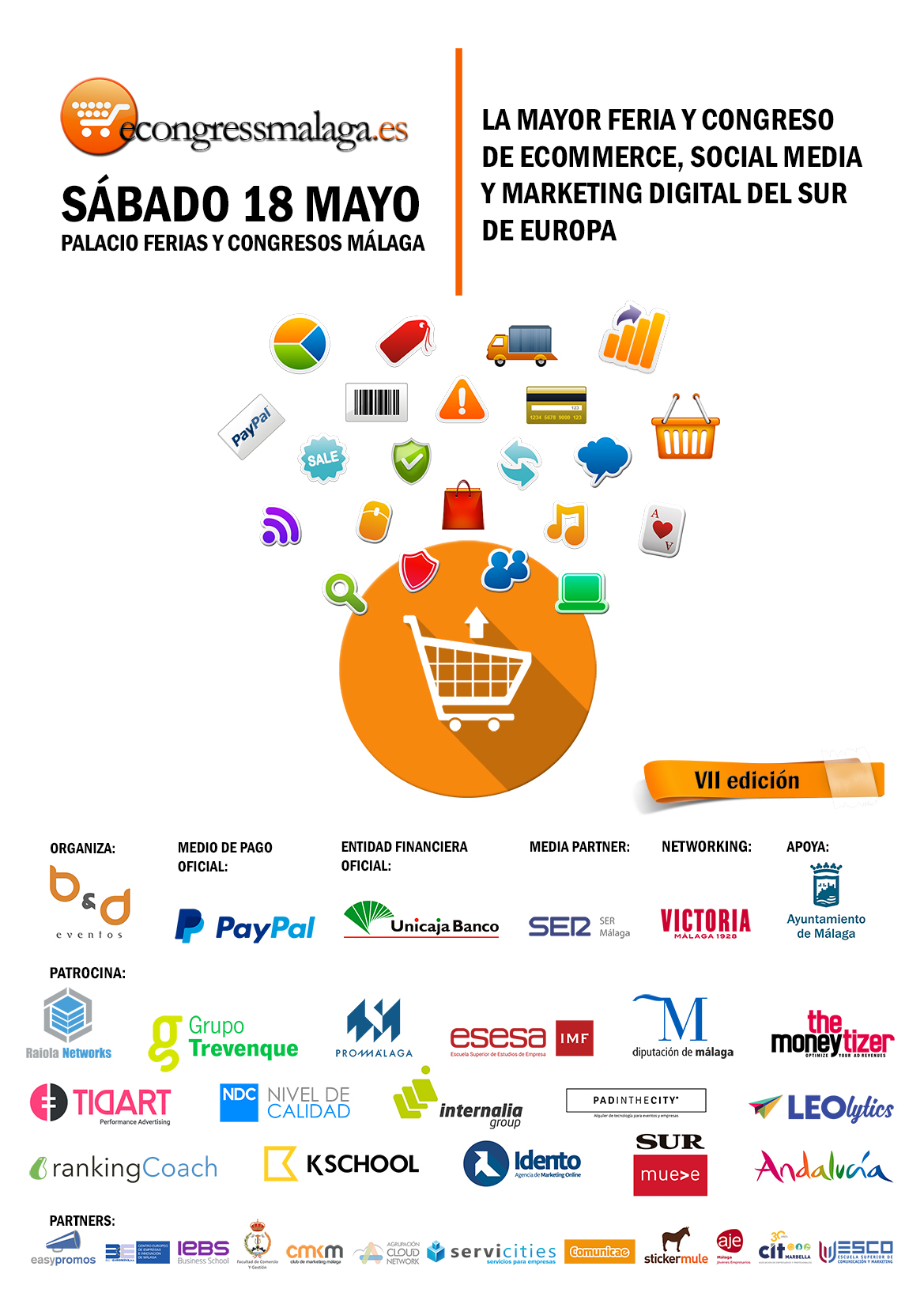 E-congress Malaga, compra tu entrada con un 25% de descuento